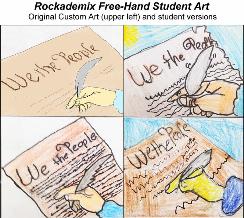 Rockademix Student Drawings