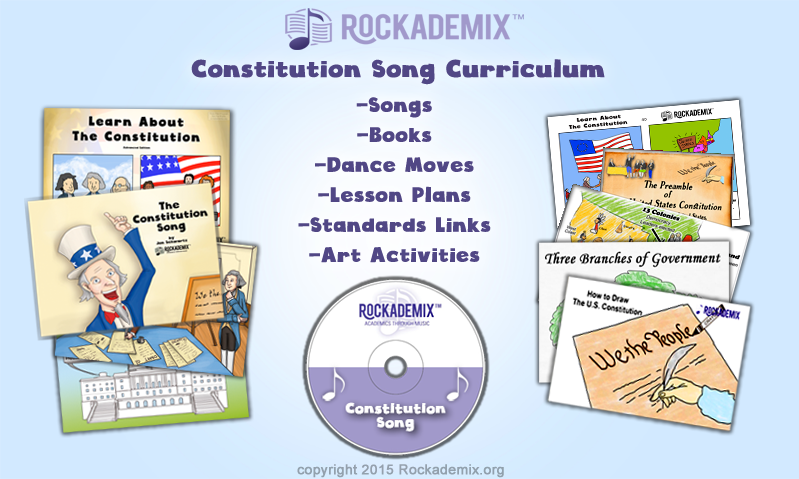 The Constitution Song from Rockademix