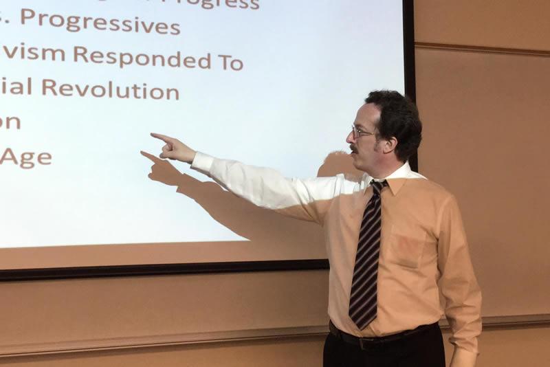 PhD Historian Furthers Rockademix Team