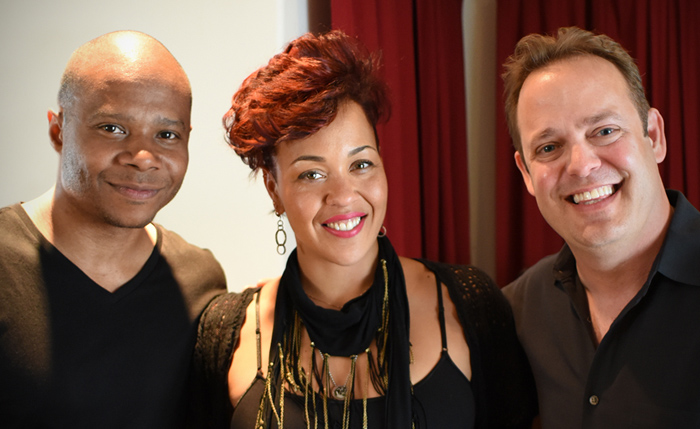 Maya Azucena with Sonix and Schwartz from Rockademix