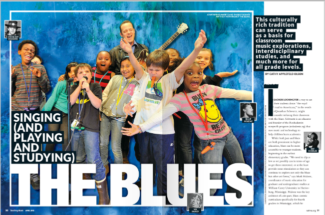Rockademix and The Constitution Song Featured in Teaching Music Magazine